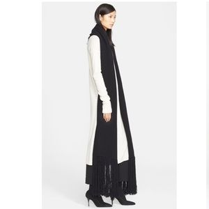 NWT Helmut Lang Cashmere Wool Oversize Scarf
